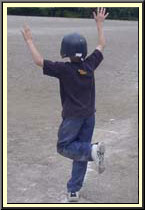 slide with hands up image 1
