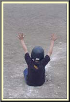 slide with hands up image 2