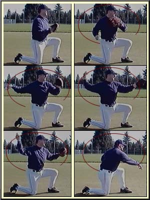 baseball throwing