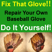 Baseball Glove Store - fix your own glove