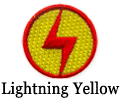lightning bolt yellow patch